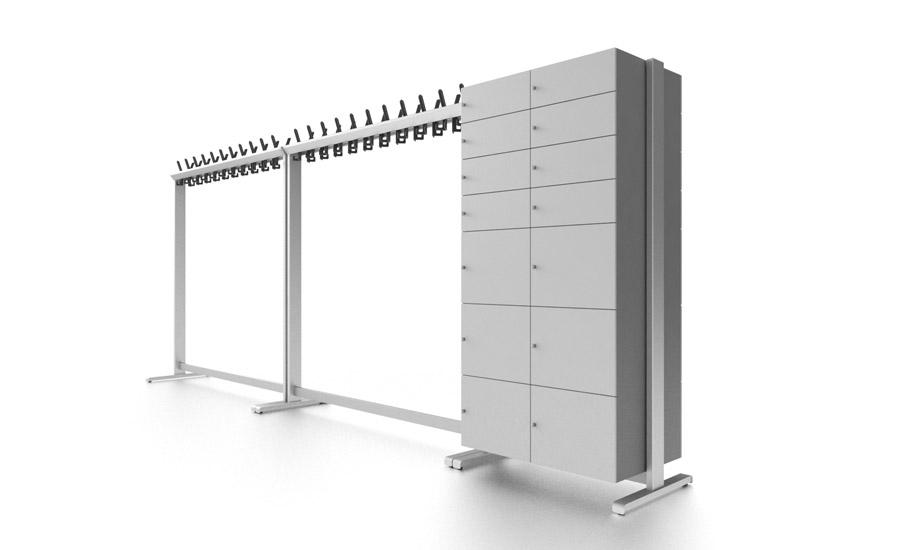 Garderobensystem für rosconi