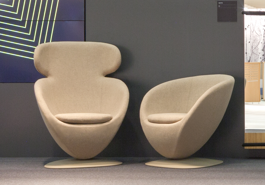 Mila ´Lounge chair at the Orgatec 16
