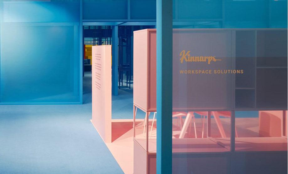 Space auf der Stockholm Furniture Fair 2017