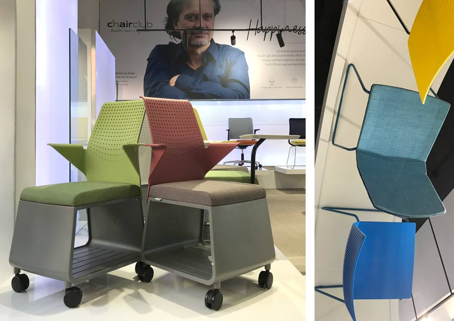 Charly and Fin chairs