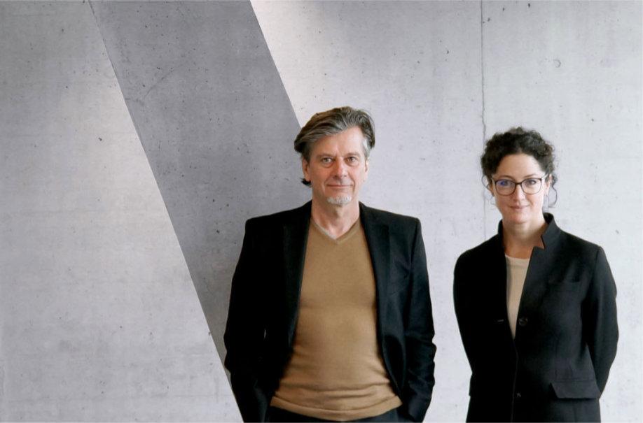 Veronika Köpp mit Stefan Brodbeck - Geschäftsführer von brodbeck koepp design